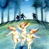 Die drei Elfen im Mondlicht