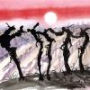 Der Tanz der Weinreben