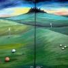 doppel-golflandschaft